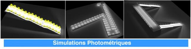 Simulations Photometriques